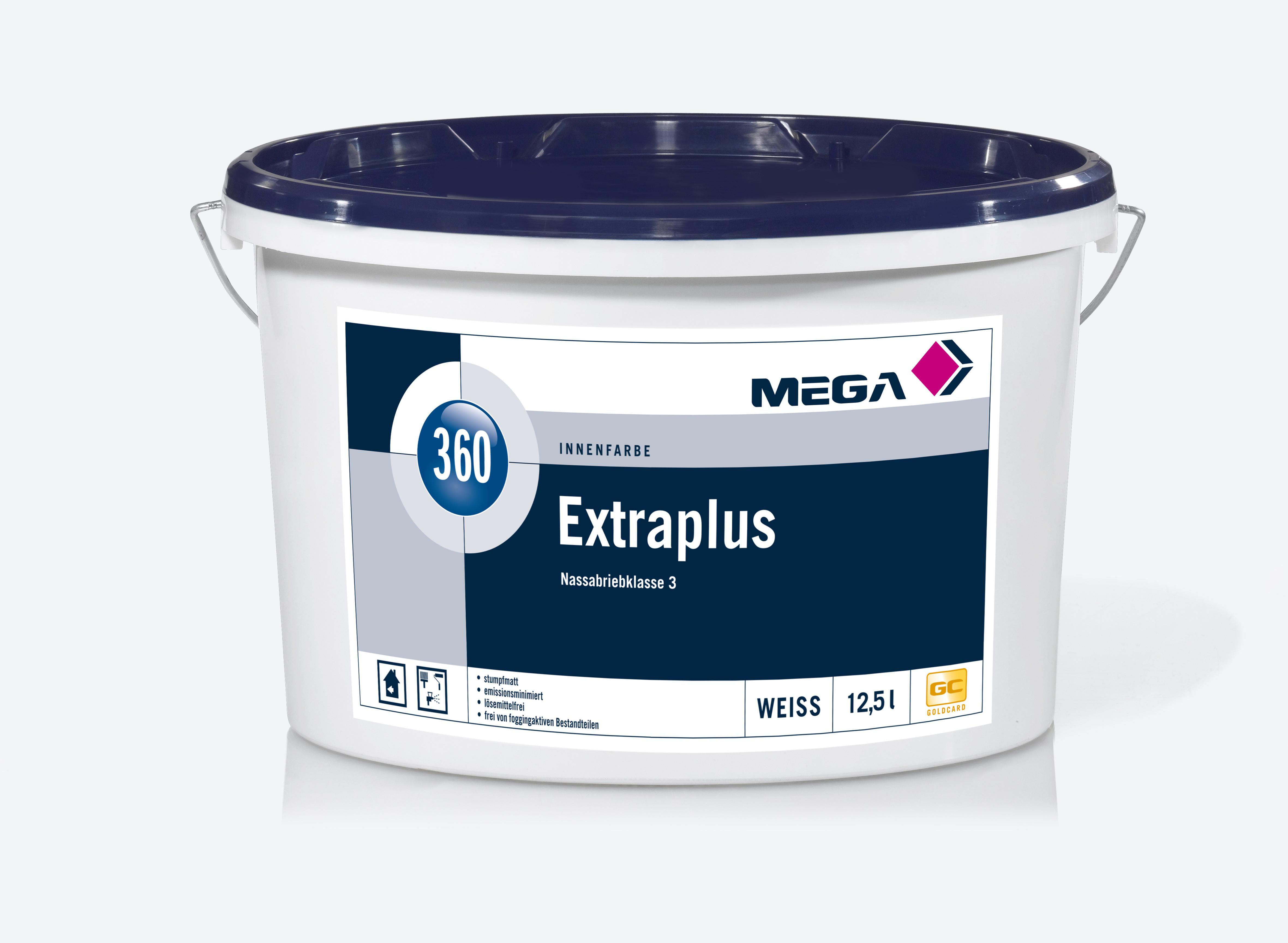 Bild: Mega 360 Extra Plus weiss 12,5 Liter