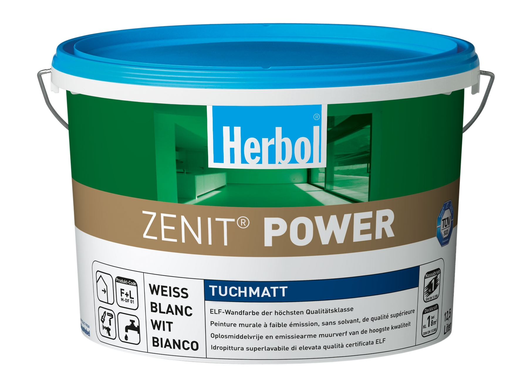 Thumbnail: Herbol Zenit Power 12,5 Liter Weiss