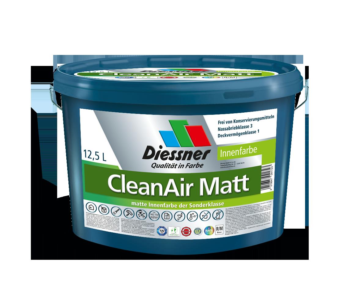 Bild: Diesco CleanAir Matt 12,5ltr weiss